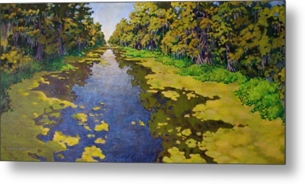 The Bayou Metal Print