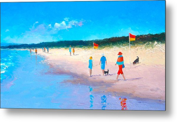 The Beach Walkers Metal Print