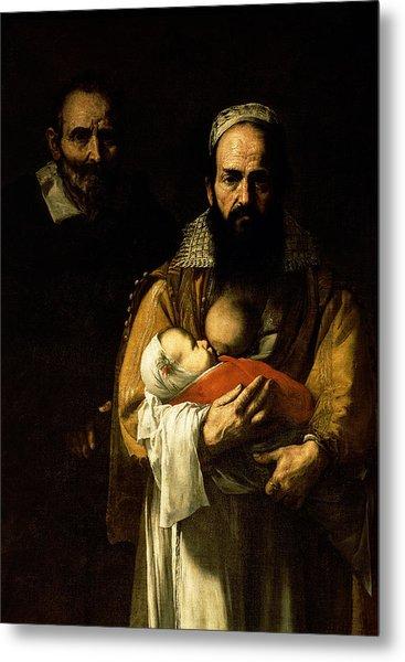 The Bearded Woman Breastfeeding, 1631 Metal Print