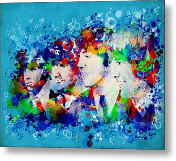 The Beatles 6 Metal Print