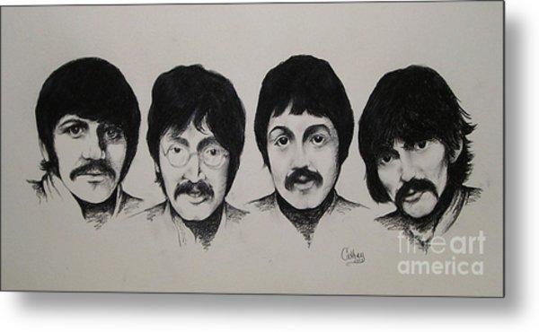 The Beatles Metal Print