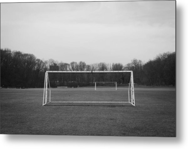 The Beautiful Game Metal Print by Richie Stewart