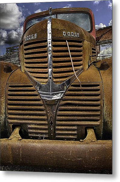 The Beauty Of Rust Metal Print