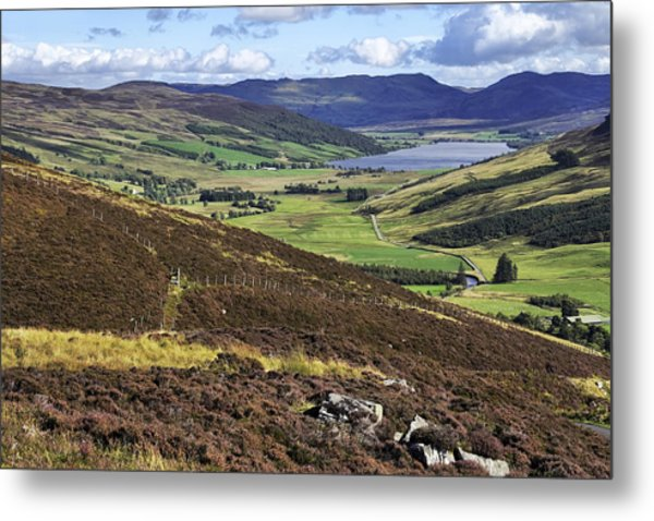 The Beauty Of The Scottish Highlands Metal Print