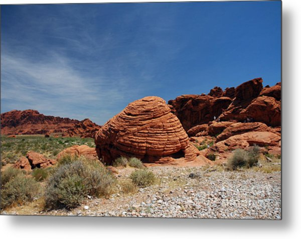 515p The Beehive In Valley Of Fire Metal Print