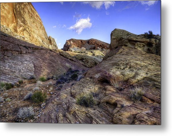 The Bend Metal Print by Stephen Campbell