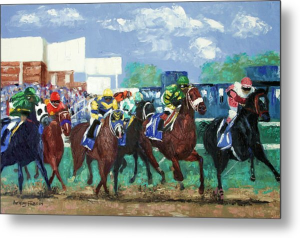 The Bets Are On Again Metal Print