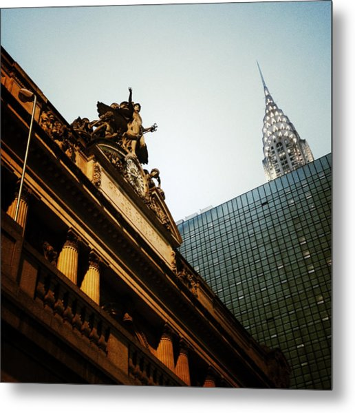 The Big Apple Metal Print