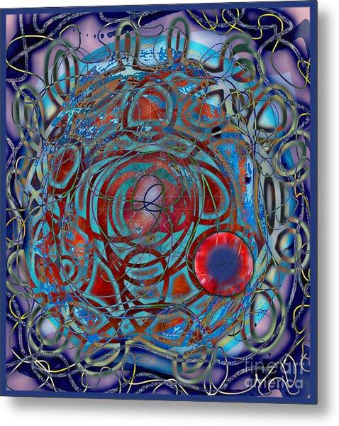 The Big Bang Grape Theory Metal Print