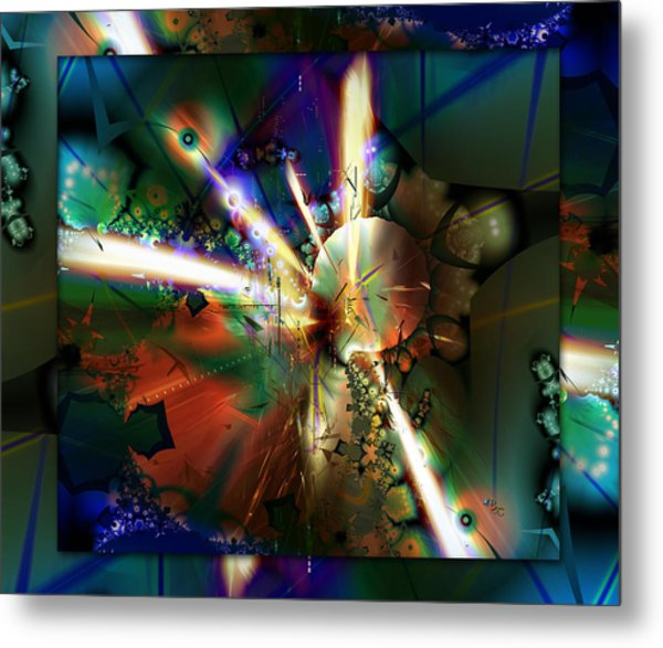 The Big Bang Metal Print by Robin Curtiss