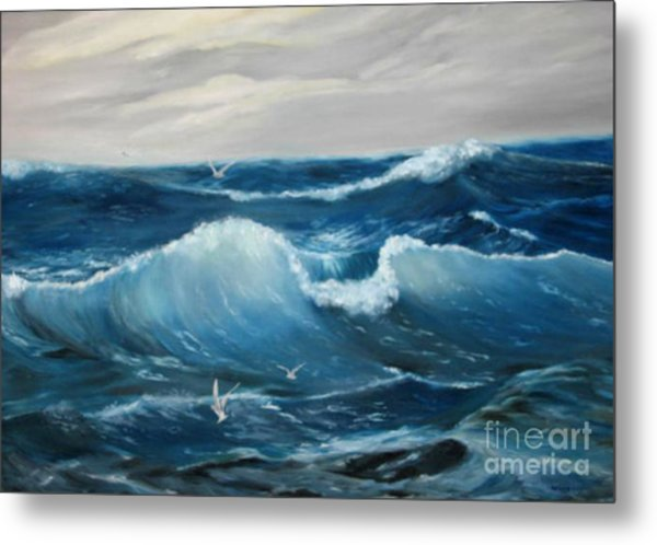 The Big Ocean Metal Print