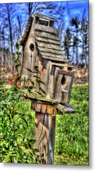 The Bird House Metal Print