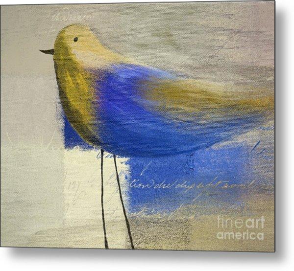 The Bird - J100124164-c21 Metal Print