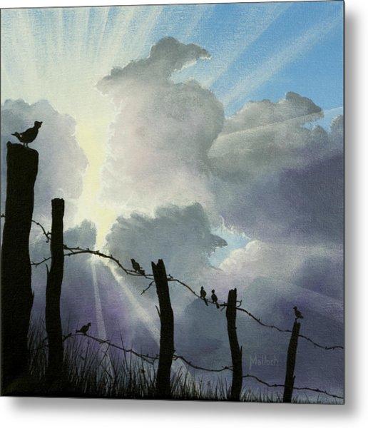 The Birds - Make A Joyful Noise Metal Print