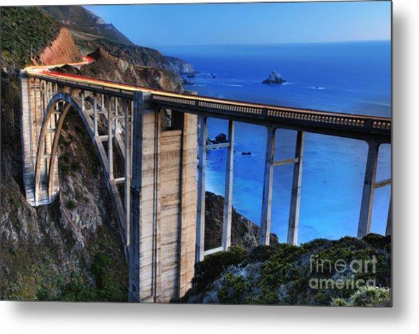 The Bixby Bridge  Metal Print