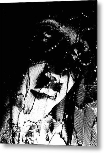 The Black Madonna Metal Print