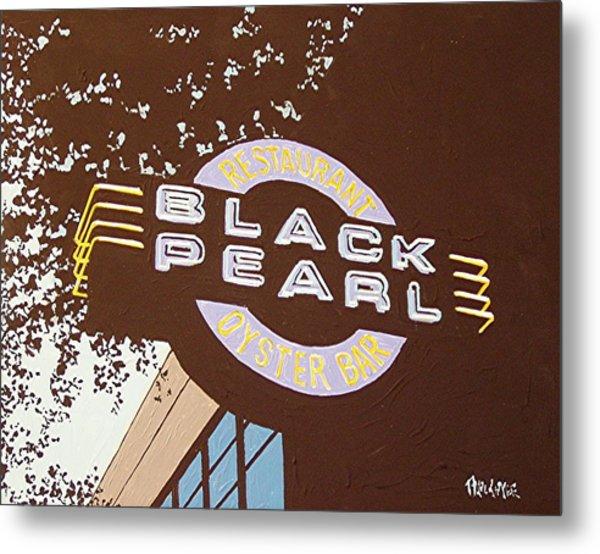 The Black Pearl In Midtown Metal Print by Paul Guyer