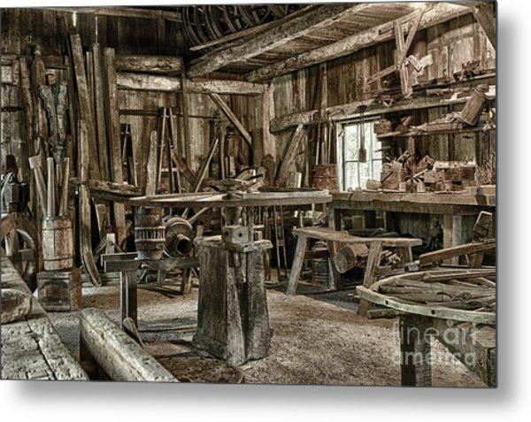The Blacksmith Shop Metal Print