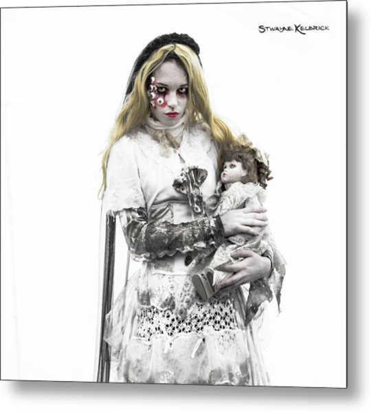 The Haunted Angel Metal Print
