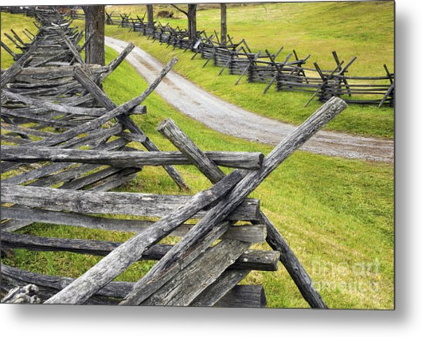 The Bloody Lane At Antietam Metal Print