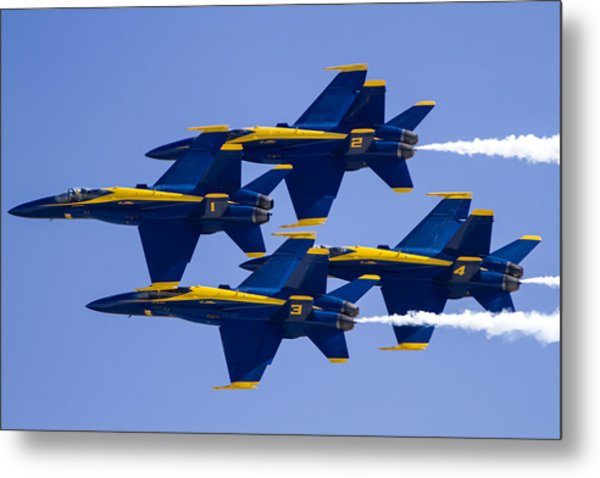 The Blue Angels In Action 1 Metal Print
