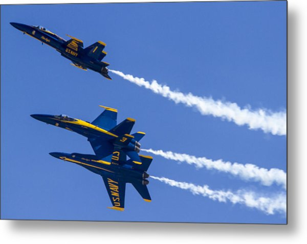 The Blue Angels In Action 5 Metal Print