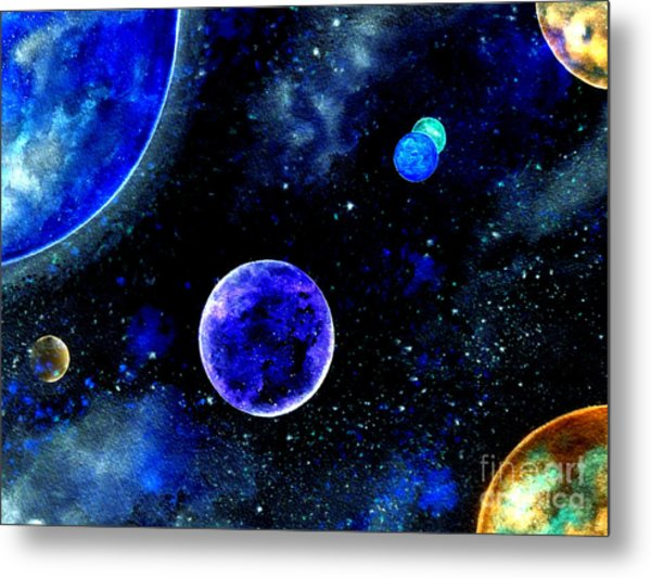 The Blue Planet Metal Print