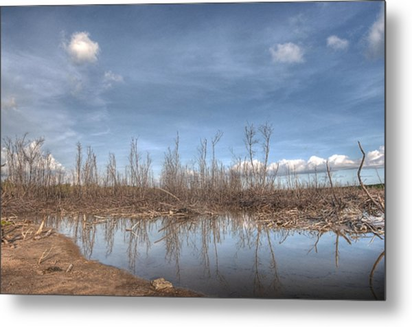 The Blue Water Desert Metal Print by Imago Capture