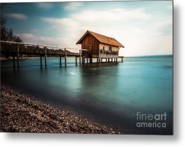 The Boats House II Metal Print