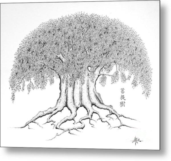 The Boddhi Tree Metal Print by Robert Fenwick May Jr