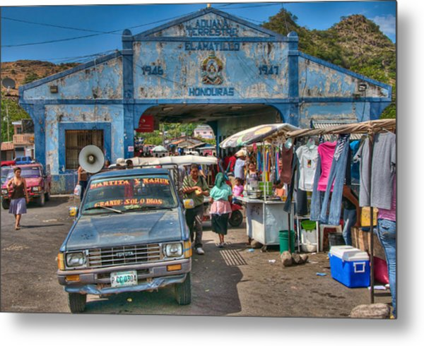 The Border Boogie Metal Print