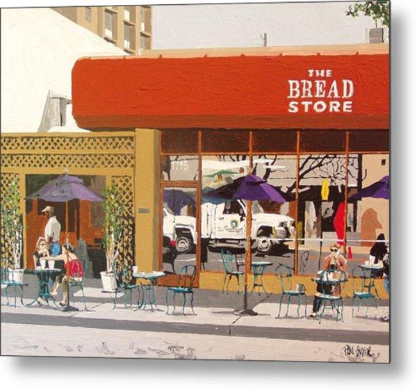 The Bread Store In Midtown Metal Print by Paul Guyer