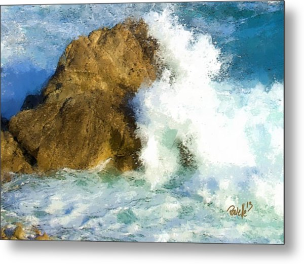 The Breaker Metal Print