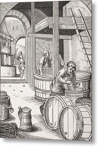 The Brewer Metal Print