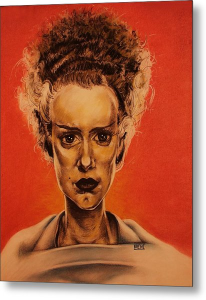 The Bride Of Frankenstein Metal Print