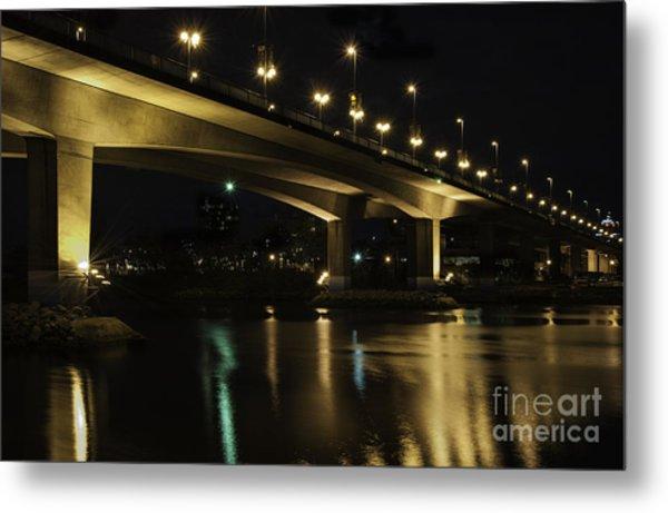 The Bridge Over False Creek Metal Print