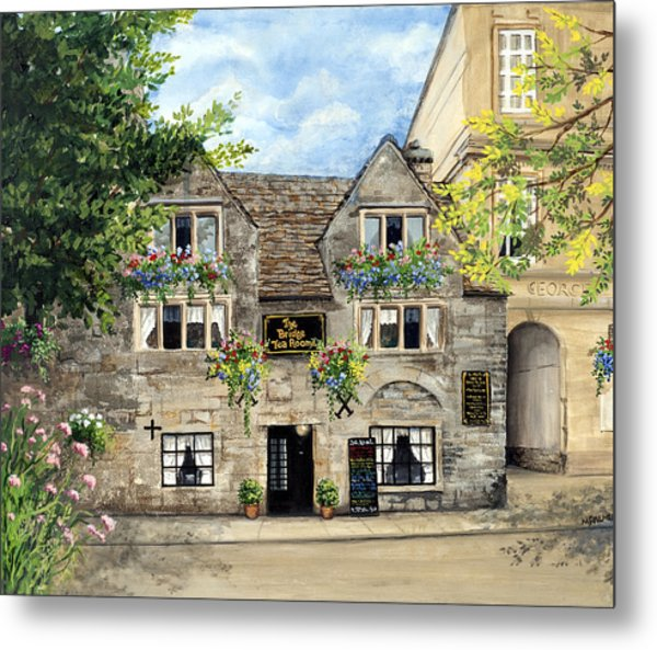 The Bridge Tea Rooms Metal Print
