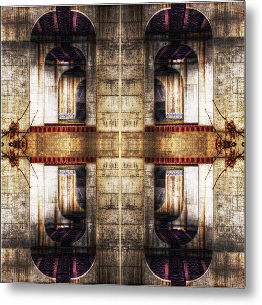 The Bridges Metal Print by Don Powers