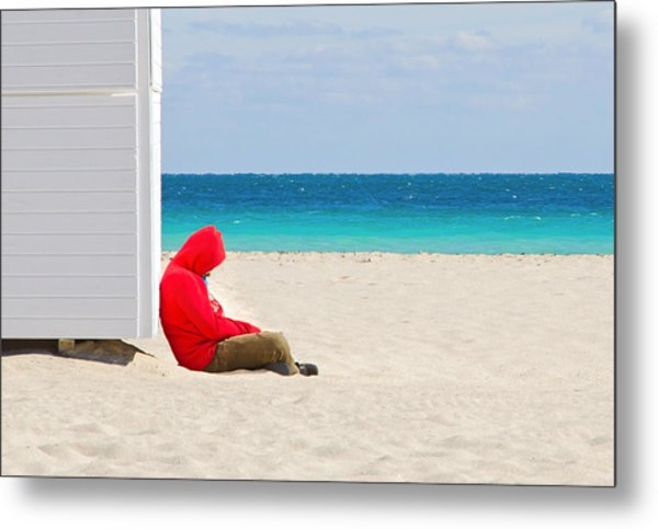 The Bright Side Metal Print