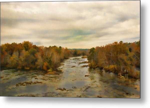The Broad River Metal Print