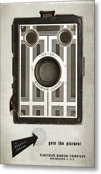 The Brownie Junior Six-20 Camera Metal Print