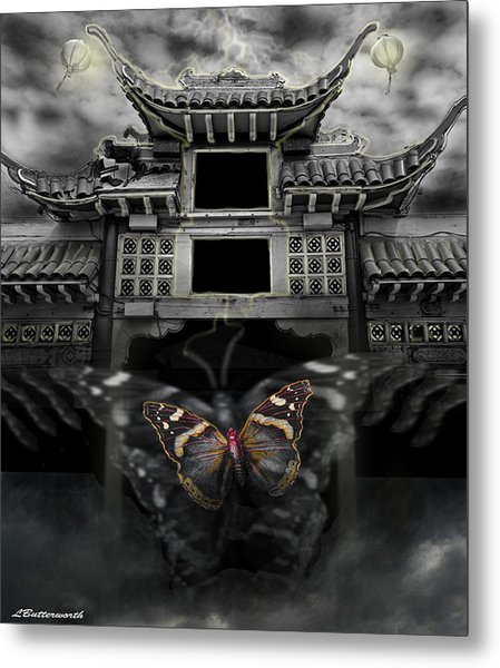 The Butterfly Effect Metal Print by Larry Butterworth