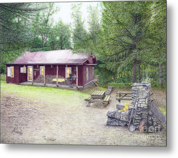 The Cabin In The Woods Metal Print