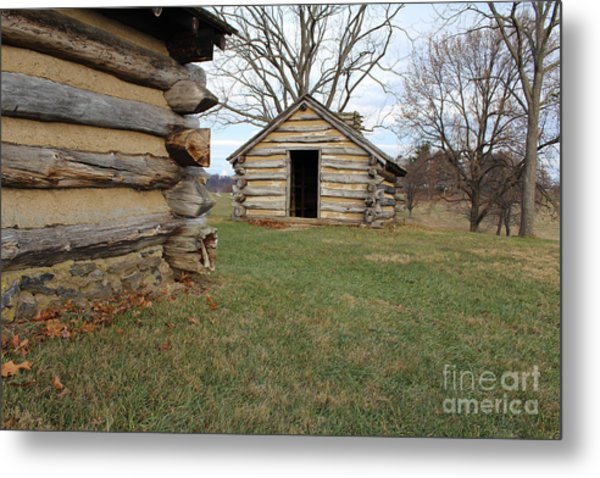 The Cabins Metal Print