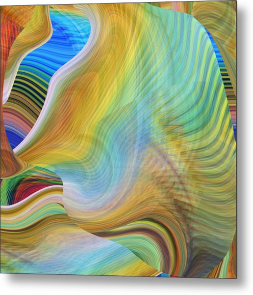 Metal Print featuring the digital art The Call Of The Sea by rd Erickson