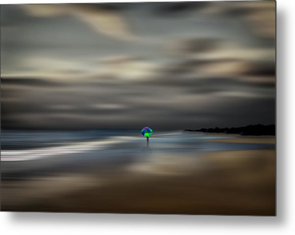 The Calming Sea Metal Print