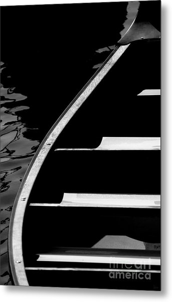 The Canoe Metal Print