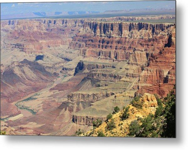 The Canyon Desert View Metal Print by Douglas Miller