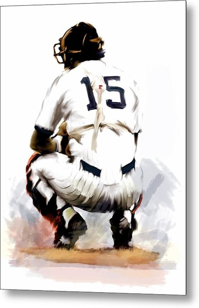The Captain  Thurman Munson Metal Print