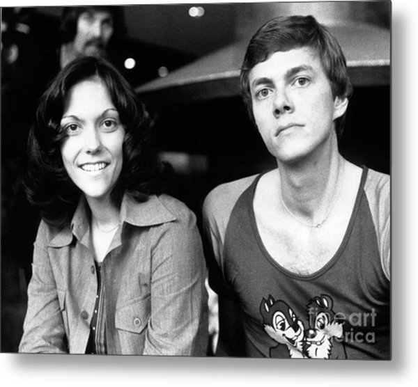The Carpenters 1972 Metal Print